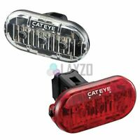 Cateye OMNI 3 Bike Cycle Triple LED Safety Front & Rear Light Set