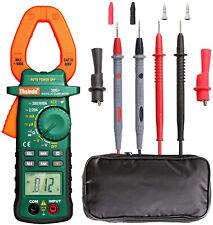 Clamp Meter Multimeter Tester Voltage Rms Amp True Test Digital Dc Ac Volt