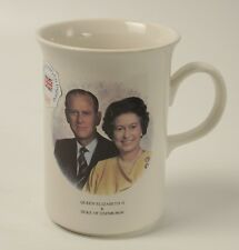 Queen Elizabeth II Duke Of Edinburgh Mug Churchill England Coffee Cup