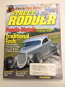 Street Rodder Magazine Funda-Metals April 2003 031017NONRH