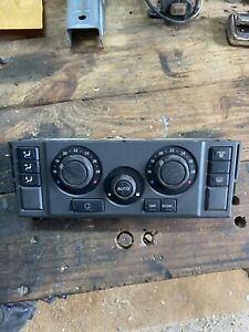 DISCOVERY 3 HEATER CLIMATE CONTROL PANEL