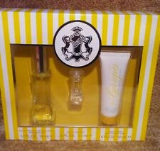 NEW Giorgio Beverly Hills Perfume EDT 1.7 oz Spray, Splash & Lotion Gift Set NIB