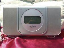 Capello Wake Up Dual Alarm Clock with Digital Am/Fm Radio Cd Player Model Cr25