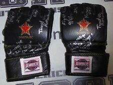 Charmaine Tweet Signed Invicta FC 8 Fight Used Worn Gloves PSA/DNA COA UFC MMA