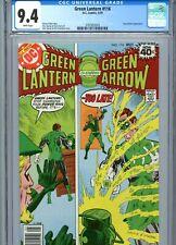 Green Lantern #116 CGC 9.4 White Pages DC Comics 1979