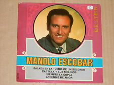 """MANOLO ESCOBAR -Balada En La Tumba De Un Soldado- 7"""" EP 45"""