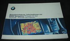 Betriebsanleitung 7er BMW E38 / E 38 Navigation Handbuch Stand 1999!