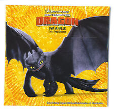 DVD Sampler General Mills GM cereal promo for the How to Train Your Dragon movie