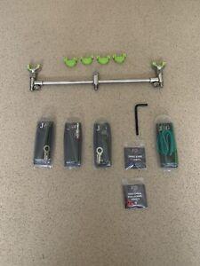 Jag Lockdown Korda Large X2 And Buzz Bar Jag Rod Locker X3 New