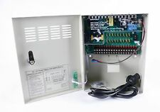 9 CH/18 CH 12V/10A Uninterrupted CCTV Power Supply Distribution Box CCTV Camera
