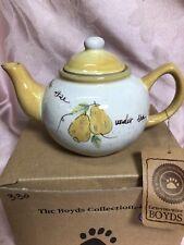 Boyds Bears Accessories Under The Pear Tree Tea Pot