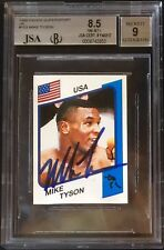 1986 MIKE TYSON RC 1/1 BGS 8.5 W/9 AUTO HIGHEST MULTI GRADE SUPERSPORT BGS PSA