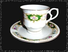 Kaffee Cup Tee Tasse + Untertasse Hebei Porcelain Porzellan ►►Made in China◄◄