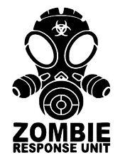 Zombie vinyl car Decal / Sticker