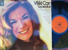 Vikki Carr ORIG OZ LP Superstar NM '71 CBS Vocal Latin Pop