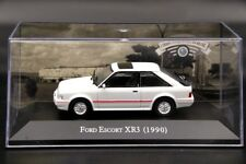 Altaya 1:43 Scale Ford Escort 1.8 XR3 1990 Diecast Models Cars Collection White