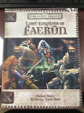 Lost Empires of Faerun Dungeons & Dragons 3.5 Forgotten Realms Hardcover HC