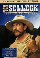 Tom Selleck Western Collection [New DVD] Gift Set, Repackaged, 3 Pack