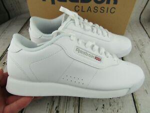 New ~ Reebok Princess White Classic Athletic Sneaker Shoes Women's 8 ~ 1475