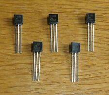 3 transistores KP 303 W КП 303 в = JFET-transistor, n-CH