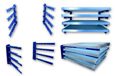 4 Layers Screen Frame Storage Rack Silk Screen Wall Mounted Holder Orginazer