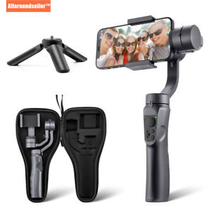 3 Axis Handheld Gimbal Stabilizer Selfie Stick for iPhone12 11 X XS,Samsung S21