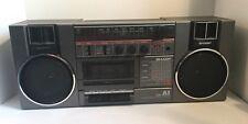 Vintage Rare SHARP GF-A1 BOOMBOX Stereo Radio Cassette Player Recorder