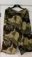 army camo crop trousers size 14(retro,funky,goth,punk)