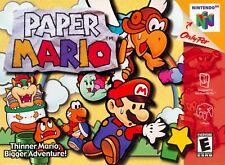 Paper Mario N64 NINTENDO 64 Video Game