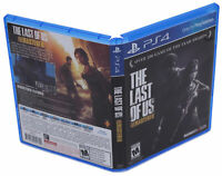 Last Of Us Remastered PS4 Replacement Game Case And Cover (No Game Disc)