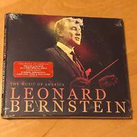 LEONARD BERNSTEIN The Music Of America CD BRAND NEW & FACTORY SEALED !!