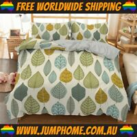 Green Droplets Bedspread Set - Duvet Cover *FREE WORLDWIDE SHIPPING*
