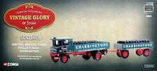 CORGI VINTAGE GLORY SENTINEL STEAM WAGON & TRAILER CHARRINGTONS-80009
