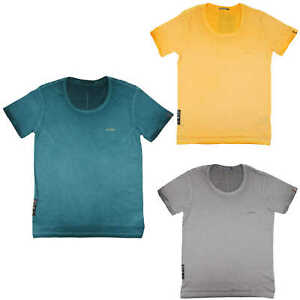 Goodness Industries Herren T Shirt basic FLO U-Neck