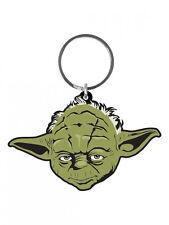 Star Wars Gummi-Schlüsselanhänger Yoda 6 cm NEU & OVP