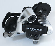 VERY TIDY 10-SPEED CAMPAGNOLO RECORD TITANIUM REAR DERAILLEUR MECH