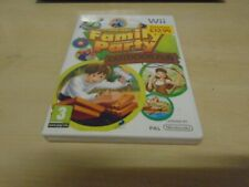 FAMILY PARTY OUTDOOR FUN 30 GREAT GAMES - NINTENDO WII