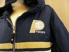 Starter Pacer Jacket Coat Men's Hooded Blue/Gold Men's Size XL