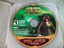 Star Wars Knights of the Old Republic IIThe Sith Lords PC Disc 4