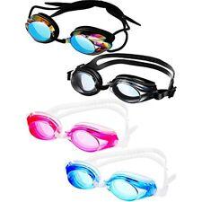 New listing 4 Pairs Triathlon Swim Goggles, Swimming Anti Fog Shatterproof Uv Protection