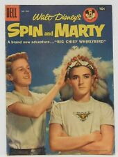 Walt Disney's SPIN AND MARTY #3 - Four Color #808 - G 1957 Dell Vintage Comic