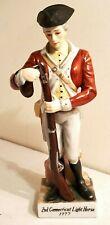 Andrea by Sadek 2nd Connecticut Light Horse 1777 Soldier Porcelain Figurine