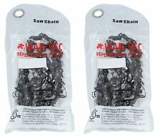 """14"""" Chainsaw Chain Pack Of 2 Fits STIHL 020 MS200T MS211 MS201T 021 023 MS231"""