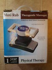 Maxi Rub Therapeutic Professional Grade Massager