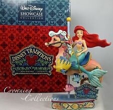 Jim Shore Disney Princess of the Sea The Little Mermaid Ariel Carousel Seahorse