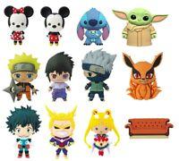 3D Foam Magnet - Naruto, My Hero Academia, Mickey, Minnie, Stitch, The Child