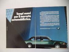 advertising Pubblicità 1981 BMW 745i 745 i
