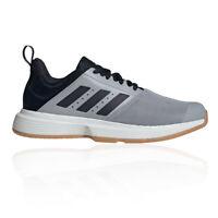 adidas Mens Essence Indoor Court Shoes Grey Sports Handball Breathable