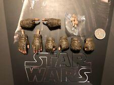 Hot Toys Star Wars Rogue uno Jyn Observatorio guanteado manos X 8 & Clavijas Suelto Escala 1/6th