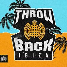 THROWBACK IBIZA - MINISTRY OF SOUND 3 CD ALBUM SET (Released August 16th 2019)